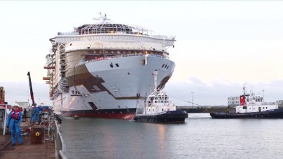 VIDEO: Symphony of the Seas, la nave da crociera più grande e innovativa del mondo
