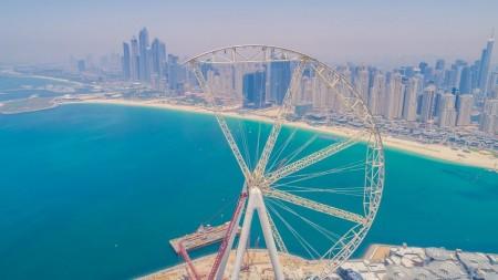 """""""Ain Dubai"""", la più grande ruota panoramica del mondo. Il debutto negli Emirati Arabi entro la fine del 2017"""