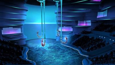 """Grande attesa a Dubai per il debutto dell'Aqua Theatre """"La Perle"""""""