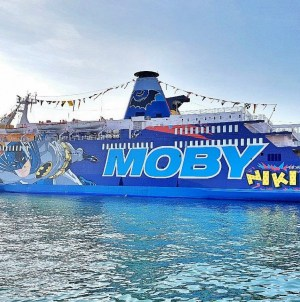 Moby: la V Class sulla rotta Genova-Olbia fino a metà settembre