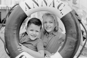 Anna C., Salvagente con bimbi