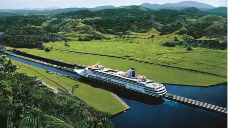 Holland America Line: 5 navi nel Canale di Panama nel 2019