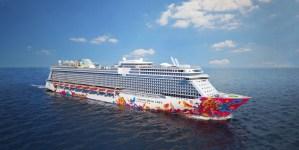Dream Cruises: float out per World Dream a Papenburg