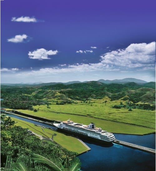 Holland America Line, Canale di Panama