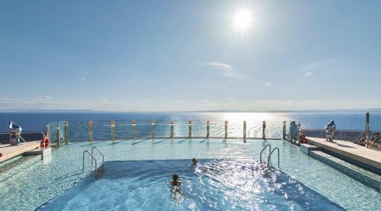 Inifnity pool, piscina, MSC Preziosa, MSC Crociere