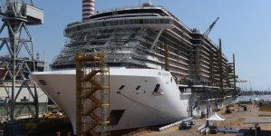 MSC Crociere e Fincantieri celebrano il float out di MSC Seaview