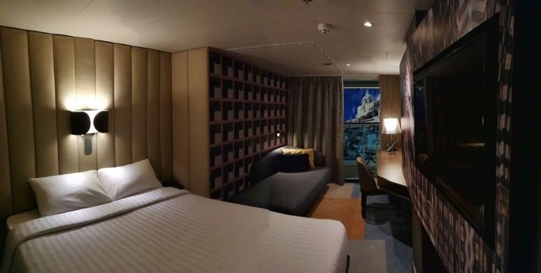 Nuova nave Costa Crociere, Cabina con Balcone