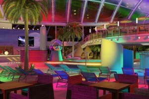 Beach Club by night