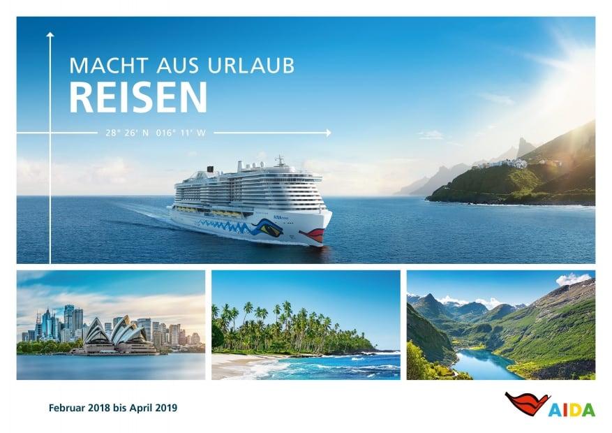 AIDA Cruises presenta gli itinerari invernali 2018-2019. Australia, Cina, Indonesia e Seychelles fra le nuove mete