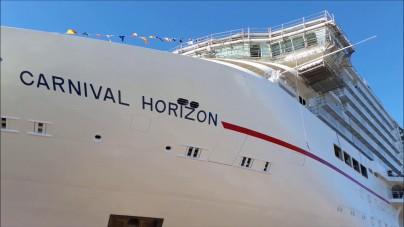 Carnival Horizon: salta la festa a Trieste. E' corsa contro il tempo per la consegna all'armatore