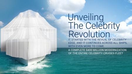 """Celebrity Cruises: al via nel 2019 la """"Celebrity Revolution"""", ambizioso piano di modernizzazione della flotta"""