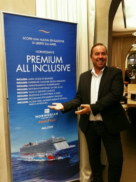 Christian Böll, Norwegian Cruise Line lancia la nuova formula All Inclusive