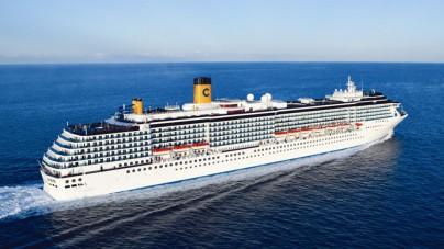 Vento forte nel golfo di Savona: Costa Mediterranea costretta a ripiegare su Genova