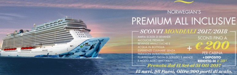 Sconti Mondiali Norwegian Cruise Line