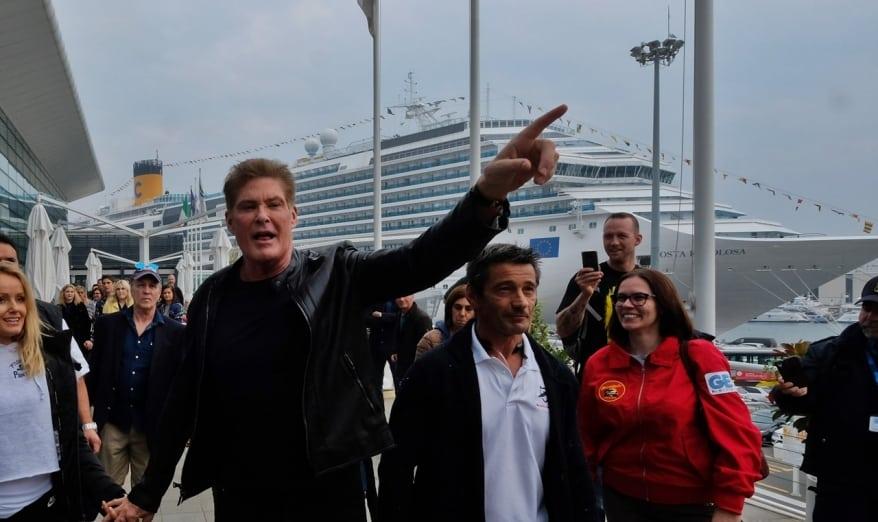 Da Savona è pronta a salpare Costa Favolosa per la speciale crociera con David Hasselhoff, il Mitch di Baywatch e Michael Knight di Supercar