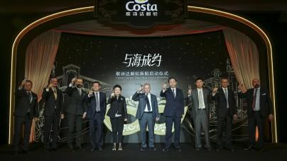 Fincanteri: Coin Ceremony a Monfalcone per Costa Venezia, la prima nave di Costa Crociere costruita per il mercato cinese