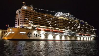 Debutta a Trieste la nuova MSC Seaside
