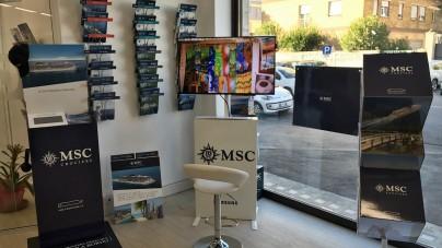 MSC Crociere apre il primo MSC Corner all'interno di un'agenzia di viaggi