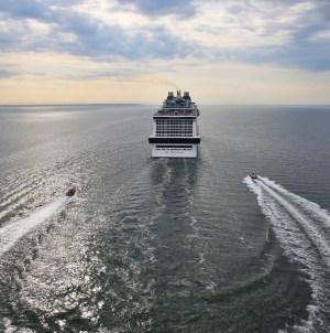 Maiden Call per MSC Meraviglia a Civitavecchia