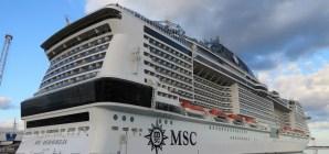 Esordio della MSC Meraviglia a Palermo. Attesa una movimentazione di 265.000 passeggeri