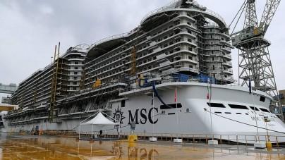 Cresce l'attesa per il debutto di MSC Seaside. Il 29 novembre la cerimonia di consegna a Monfalcone alla presenza del Presidente Mattarella