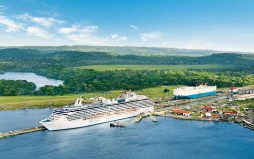Princess Cruises, Canale di Panama