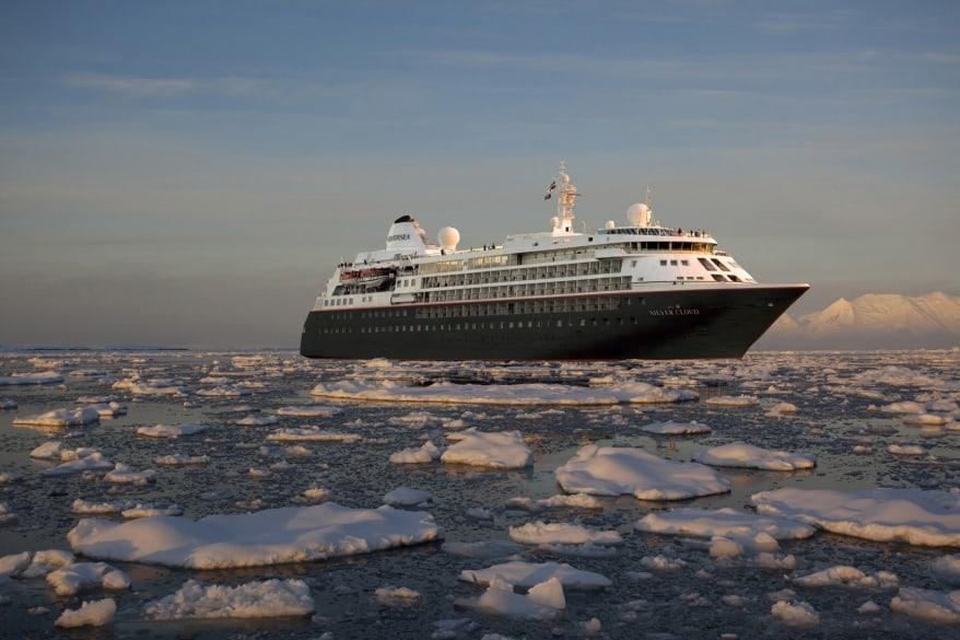 Silversea Expeditions: completato il refitting di Silver Cloud in nave da spedizione polare