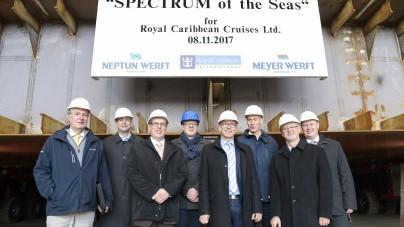Royal Caribbean: al via la costruzione di Spectrum of the Seas, prima unità di classe Quantum-Ultra