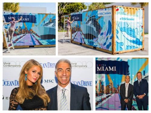 MSC Seaside, MSC Crociere, Container, Miami