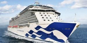 Princess Cruises: varata a Castellammare la sezione prodiera di Sky Princess, prossima ammiraglia del brand