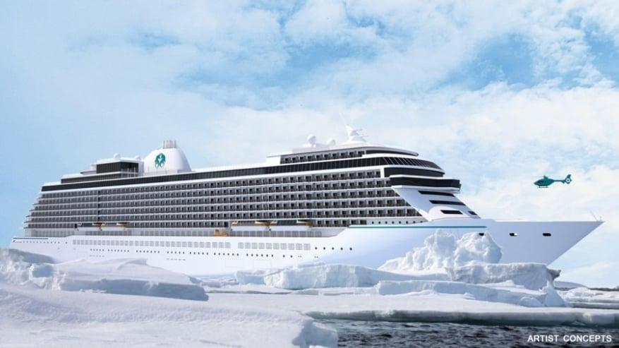 Crystal Cruises: dimensioni inferiori al previsto per le nuove unità di classe Diamond