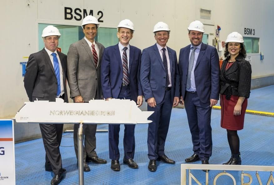 Norwegian Cruise Line: al via la costruzione di Norwegian Encore, quarta unità di classe Breakaway Plus