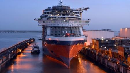 Celebrity Cruises: float-out a Saint-Nazaire per Celebrity Edge