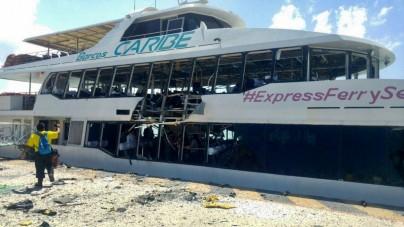 Playa del Carmen, esplosione su traghetto messicano: 25 feriti