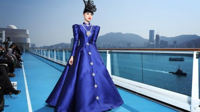 Alta moda in scena a Hong Kong a bordo di Costa neoRomantica