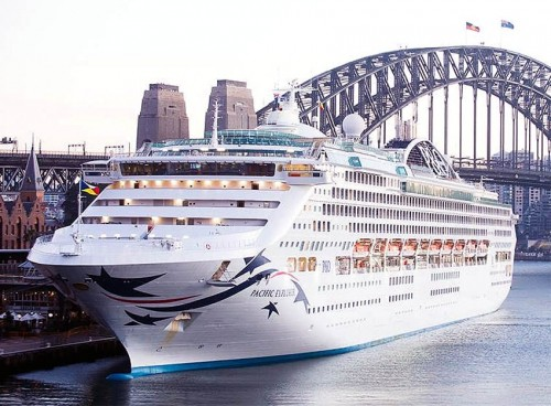 Pacific Explorer, P&O Cruises Australia