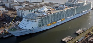 Royal Caribbean, prove in mare superate per Symphony of the Seas