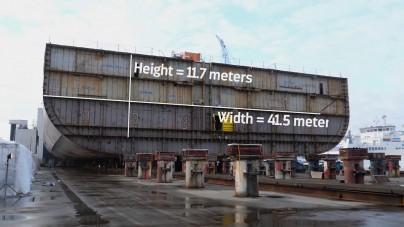 VIDEO: Un passo avanti, in Germania il float out di un mega blocco di Spectrum of the Seas