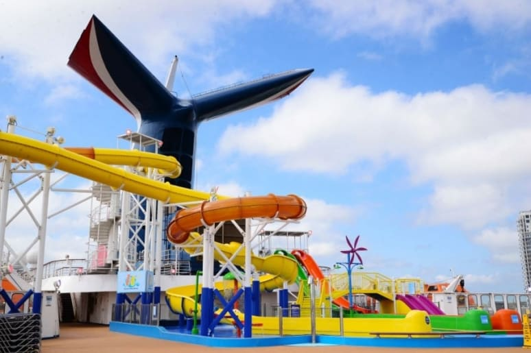 Carnival Paradise Waterworks
