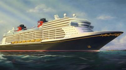 Disney Cruise Line: svelato il primo rendering delle nuove navi