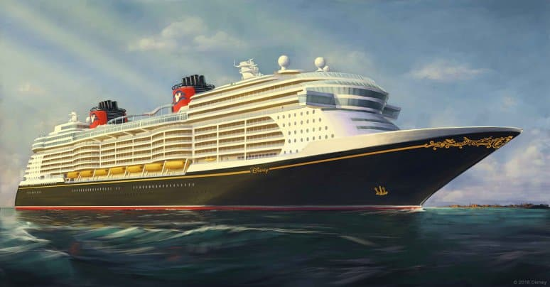 Disney Rendering Nuova Nave