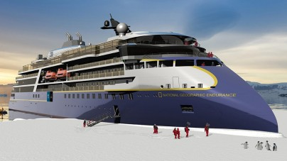 Lindblad Expeditions: posa della chiglia per la nuova National Geographic Endurance