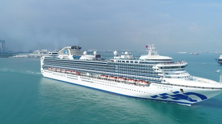 Princess Cruises: due navi a Singapore per la stagione invernale 2018-2019
