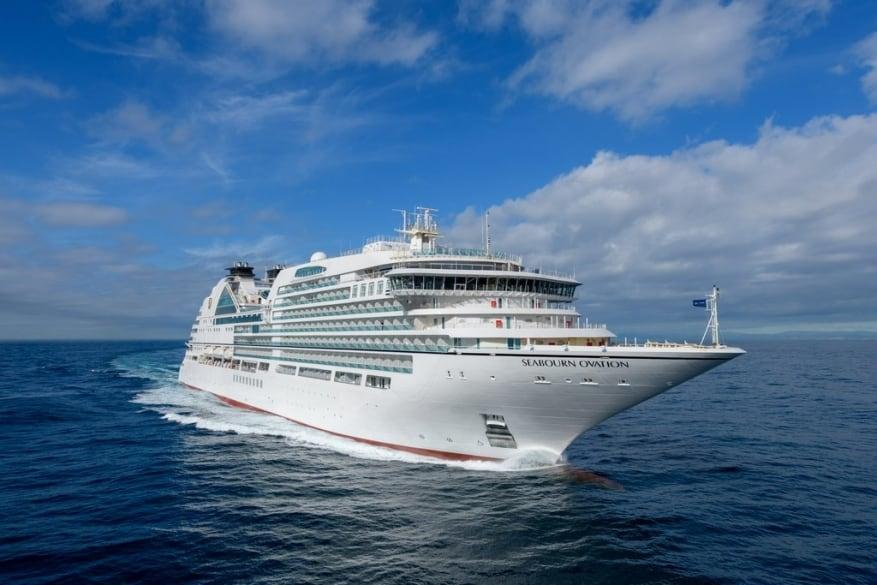 Seabourn: concluse le prove in mare per Seabourn Ovation. Consegna all'armatore il 27 aprile