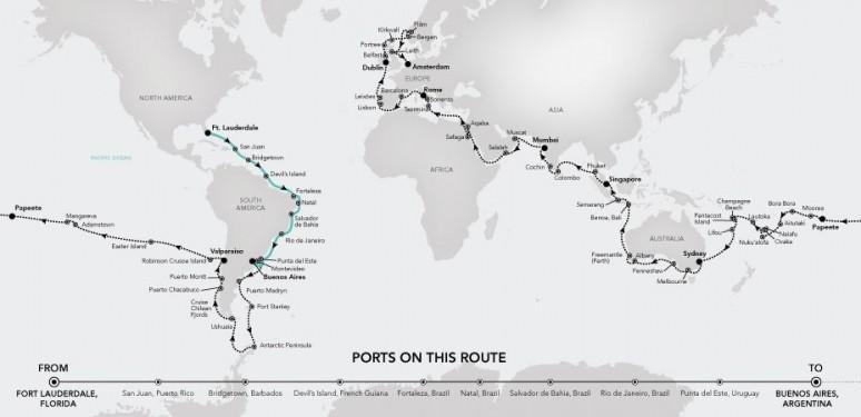 Silversea World Cruise 2020