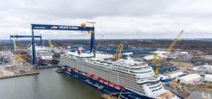 Tui Cruises: consegnata a Turku la nuova Mein Schiff 1