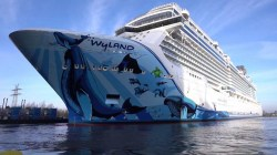 Norwegian Bliss approda a Seattle: tutto pronto per il battesimo