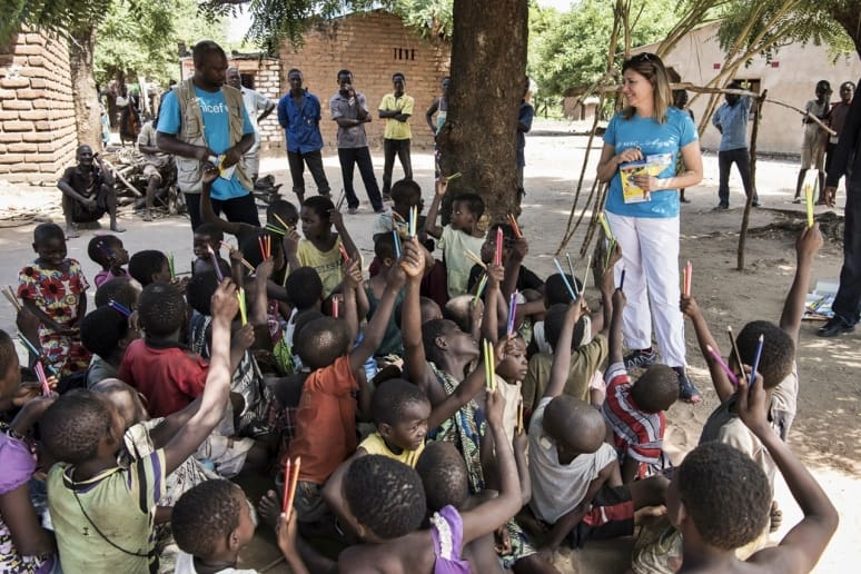 Children of Mbenderena Village