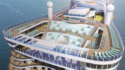Costa Crociere: ai Protagonisti del Mare nuovi dettagli di Costa Smeralda. Il battesimo a Savona il 3 novembre 2019