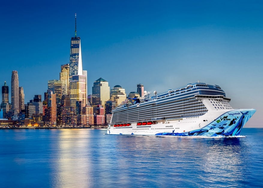 Norwegian Cruise Line: debutto americano per la nuova ammiraglia Norwegian Bliss a New York